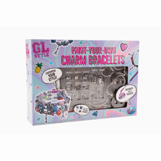 GL Style Paint Your Own Charm Bracelets