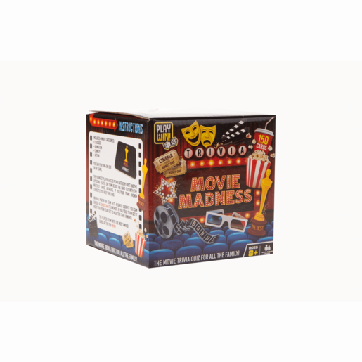 Play & Win Movie Madness Quiz Game