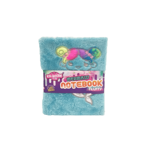Ka-Wazie Mermaid Fluffy Notebook