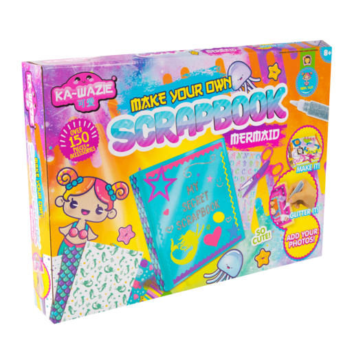 Ka - Wazie Make Your Own Scrapbook Set- Mermaid