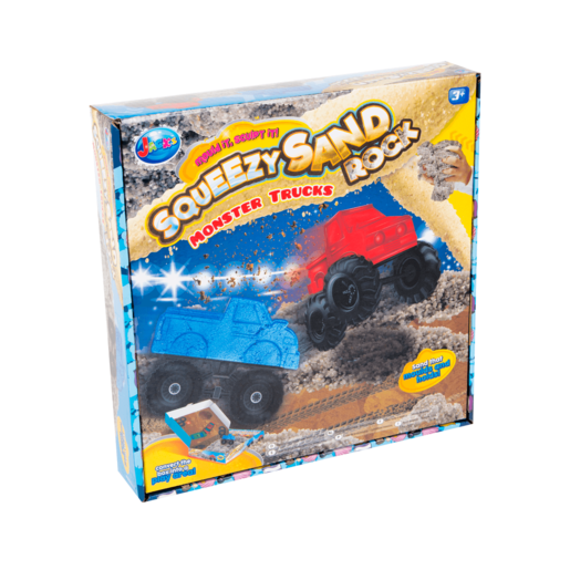 Jack's Squeezy Sand Rocks - Monster Trucks