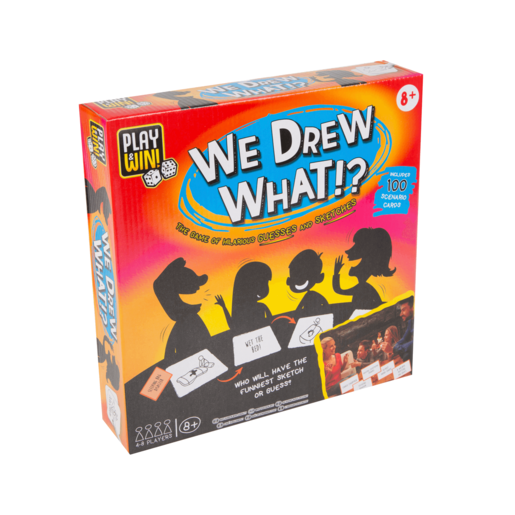 Play & Win We Drew What!? Game