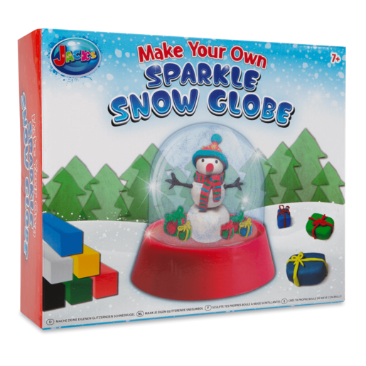 Jack's Make Your Own Sparkle Snow Globe