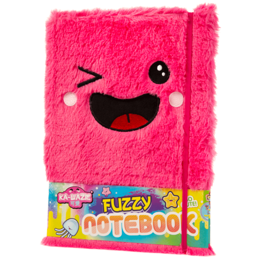 Ka-Wazie Fuzzy Plush Notebook
