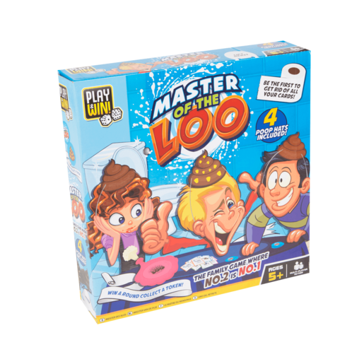 Play & Win Master of The Loo Game