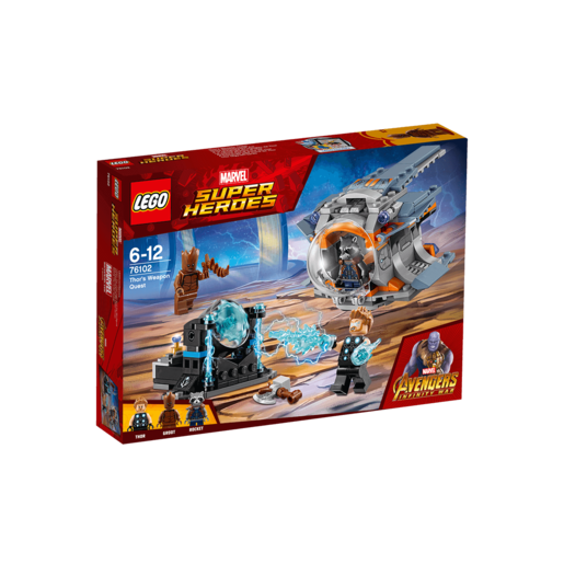 LEGO Marvel Super Heroes Avengers Infinity War Thors Weapon Quest - 76102