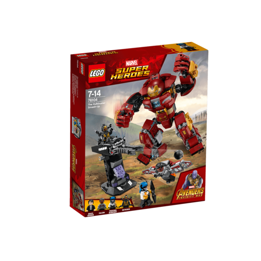 LEGO Marvel Super Heroes Avengers Infinity War The Hulkbuster Smash-Up - 76104