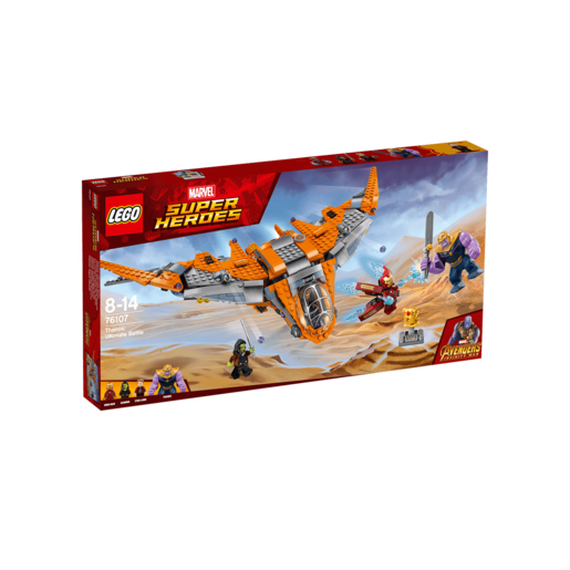 LEGO Marvel Super Heroes Avengers Infinity War Thanos: Ultimate Battle - 76107