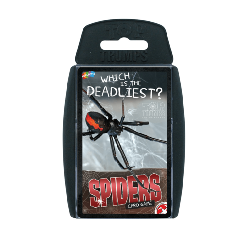 Top Trumps - Spiders Card Game