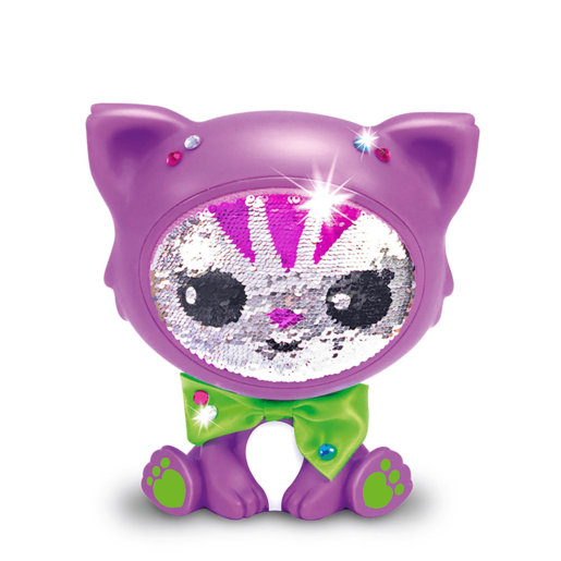 Zequin Pets - Purple Cat Safira