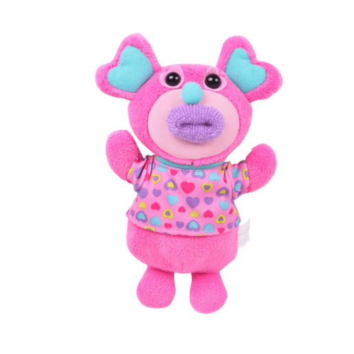 "Singamaling Blush Soft Toy - Sings ""Mary Had a Little Lamb"""