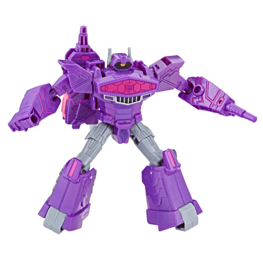 Transformers Cyberverse Warrior Class - Decepticon Shockwave