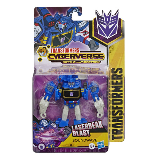 Transformers Cyberverse Battle For Cybertron - Soundwave Figure