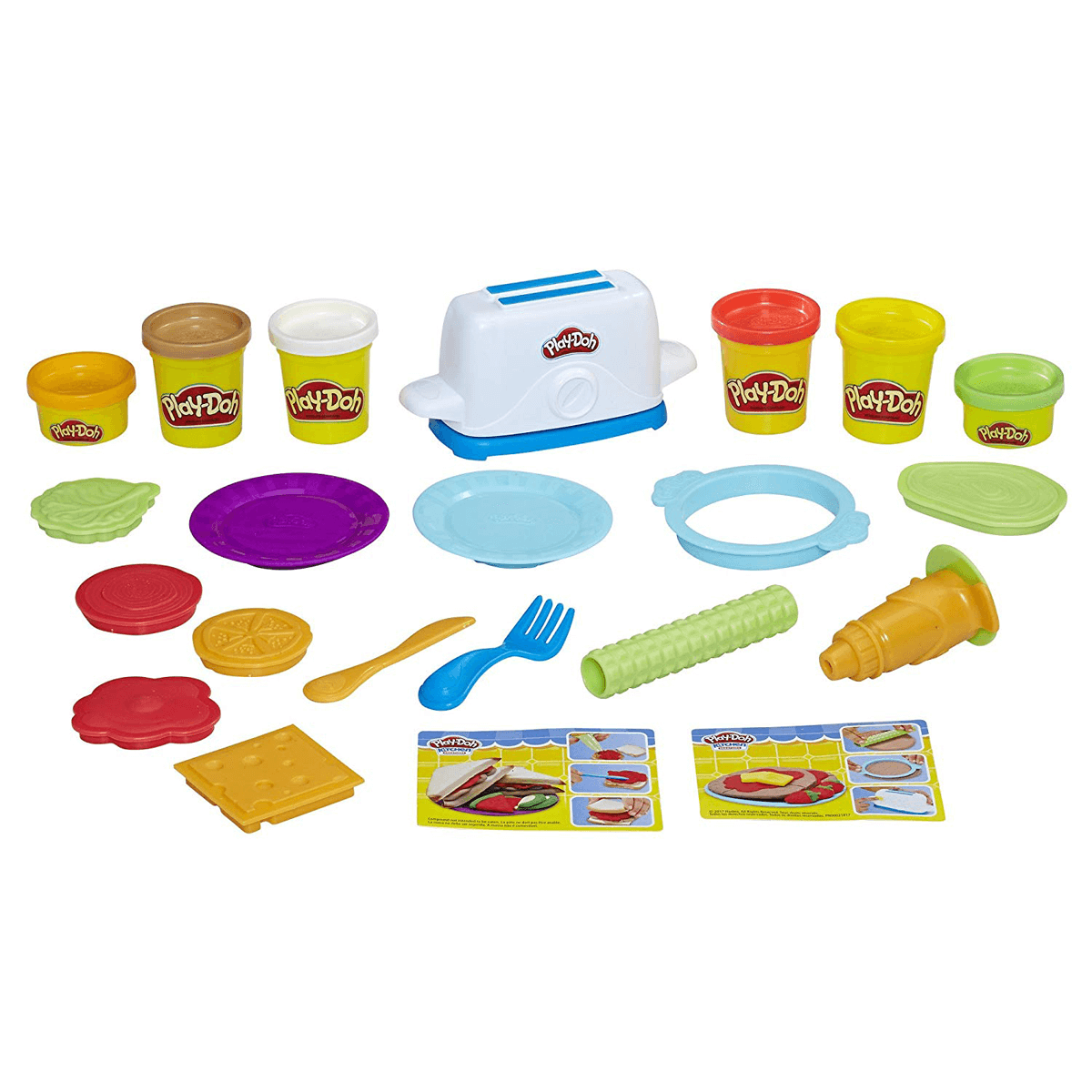 Play Doh Kitchen Creations Toaster Set