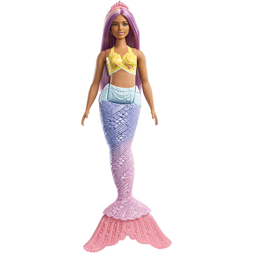 Barbie Mermaid Doll - Multicolour Hair