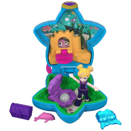Polly Pocket Tiny Pocket World - Polly and Dolphin