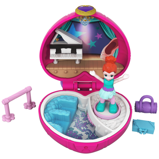 Polly Pocket Tiny Pocket World - Ballet with Lila Doll