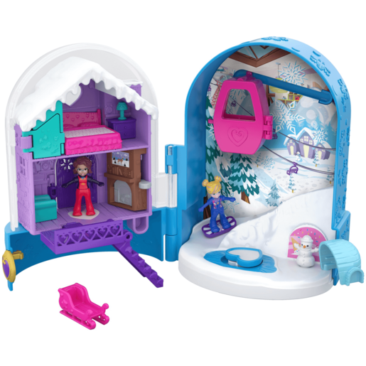 Polly Pocket World Snow Secret Playset
