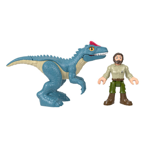 Imaginext Jurassic World Basic Figures - Allosaurus & Ranger