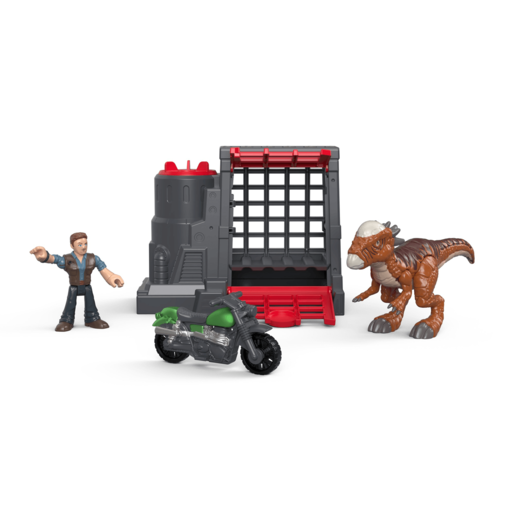 Imaginext Jurassic World Figure - Stygimoloch & Owen