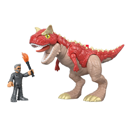 Imaginext Jurassic World Feature Figures - Garnotarus & Dr. Malcom