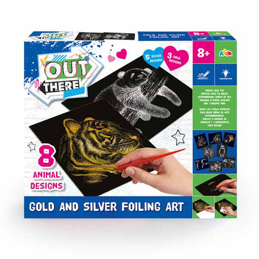 Out There Gold and Silver Foiling Art Set