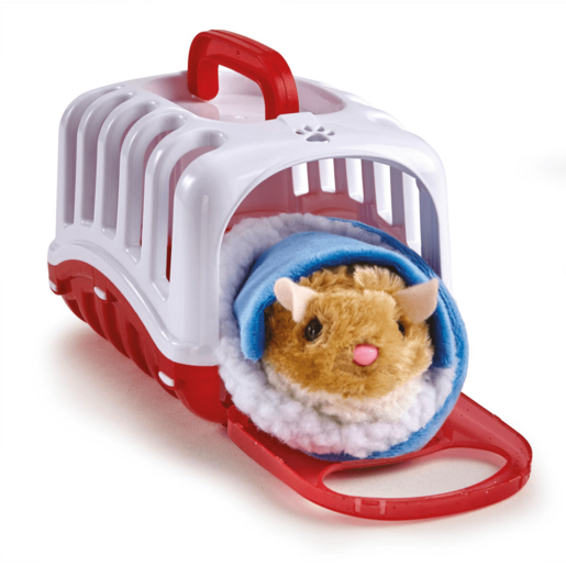 Pitter Patter Pets Carry Around Hamster - Red