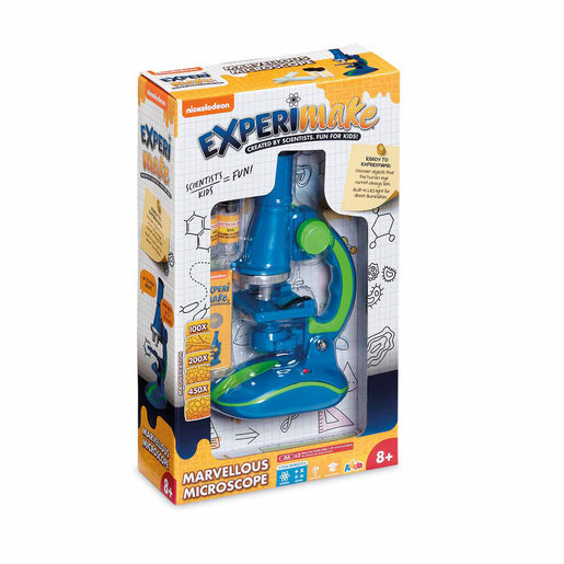 Nickelodeon Experimake Marvellous Microscope - Blue