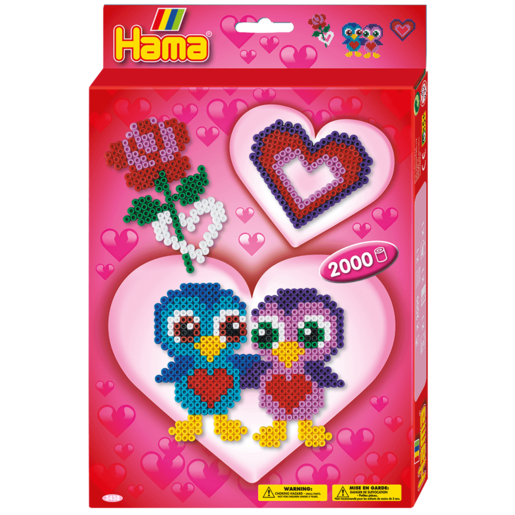 Hama Love Birds Activity Kit