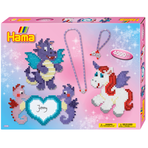Hama Dragon & Friends Large Jewellery Kit