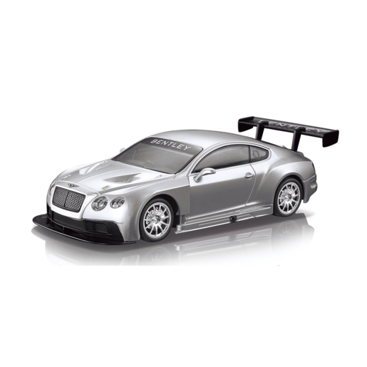 Braha 1:24 Scale Bentley Friction Car - Silver from TheToyShop