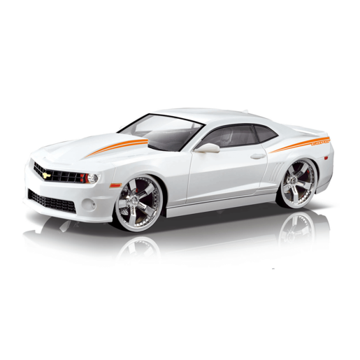 Braha 1:24 Scale Camero Friction Car - White
