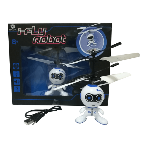 Braha i-Fly Infrared Control Robot - Blue
