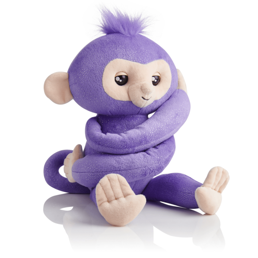 Fingerlings HUGS Glitter Monkey