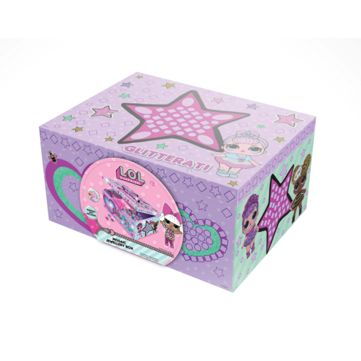 L.O.L. Surprise! Glitterati Mosaic Jewellery Box