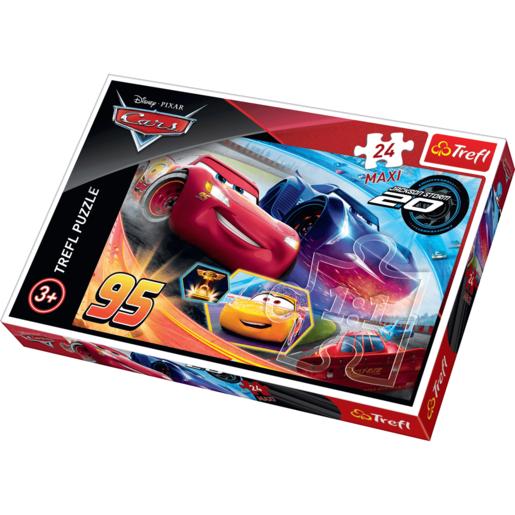 Trefl Disney Pixar Cars 3 Maxi Puzzle 24 Pcs The