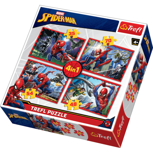 Trefl Disney Marvel Spiderman 4in1 - Puzzles
