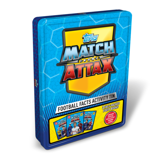 Match Attax Tin of Books
