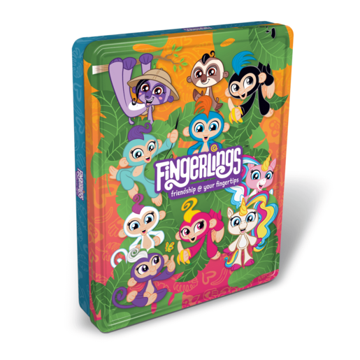 Fingerlings Tin of Books