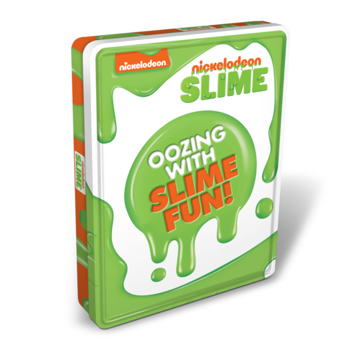 Nickelodeon Slime Tin of Books