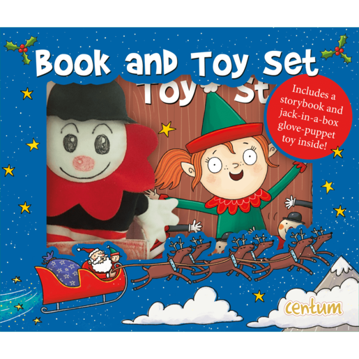 Jack In The Box Book And Toy Set