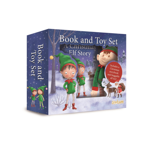 Christmas Elf Book & Plush