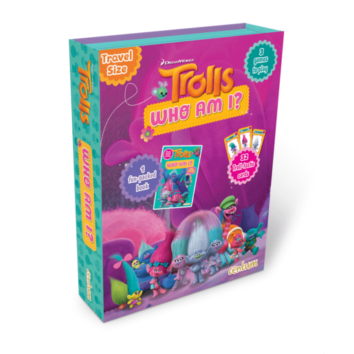 Trolls Who Am I? Fun-Pack Book