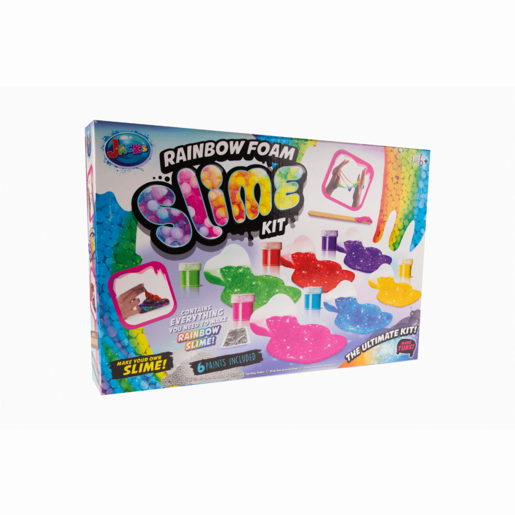 Jack's Rainbow Foam Slime Kit