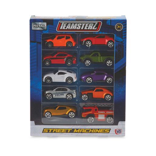 Teamsterz Die-Cast Vehicle 10 Pack (Styles Vary)