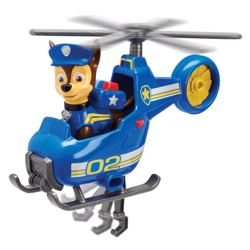 Paw Patrol Ultimate Rescue Mini Vehicle with Collectible Figure - Chase