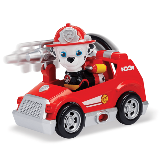Paw Patrol Ultimate Rescue Mini Vehicle with Collectible Figure - Marshall