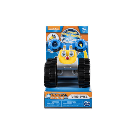 Rusty Rivets Racer - Turbo-Bytes
