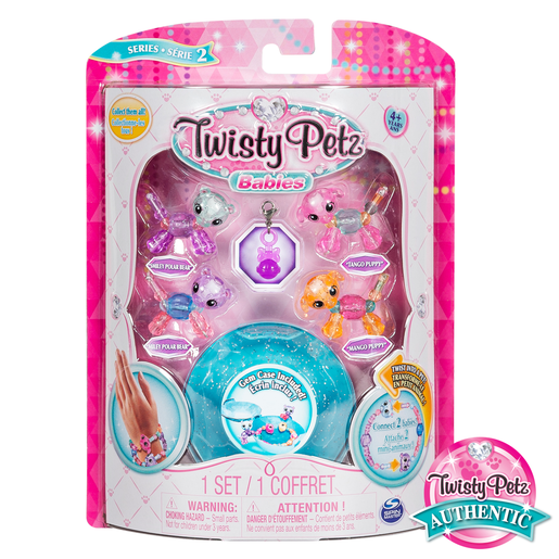 Twisty Petz Twin Baby Four Pack - Polar Bears and Puppies
