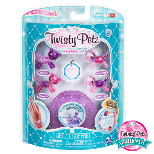 Twisty Petz Babies 4 Pack - Kitties and Otters